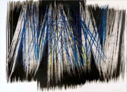 hans hartung, p1967-a49, Galerie d'art Cannes, Galerie Hurtebize, art moderne, modern art, abstraction lyrique, art abstrait, lyrical abstraction, peinture, painting