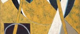 raymond abner, composition au chevalet, Galerie d'art Cannes, Galerie Hurtebize, art contemporain, contemporary art, art figuratif, figurative art, peinture, painting