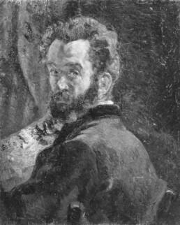 Autoportrait d'Armand Guillaumin
