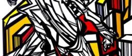 did dontzoff, Galerie d'art Cannes, Galerie Hurtebize, achat tableau art, art moderne, art contemporain, contemporary art, modern art, art abstrait, art figuratif, abstraction lyrique, art abstrait géométrique, peintures, tableau, sculpture, école de paris, hans hartung, robert combas, pierre soulages, marc chagall, georges mathieu, bernard buffet, jean miotte, vasarely, abner