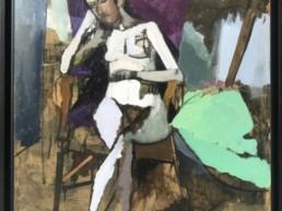 michel mousseau, Galerie d'art Cannes, Galerie Hurtebize, achat tableau art, art moderne, art contemporain, contemporary art, modern art, art abstrait, art figuratif, abstraction lyrique, art abstrait géométrique, peintures, tableau, sculpture, école de paris, hans hartung, robert combas, pierre soulages, marc chagall, georges mathieu, bernard buffet, jean miotte, vasarely, abner
