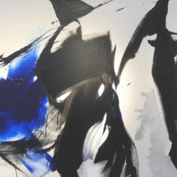 jean miotte, 1981, Galerie d'art Cannes, Galerie Hurtebize, art moderne, modern art, abstraction lyrique, art abstrait, lyrical abstraction, peinture, painting