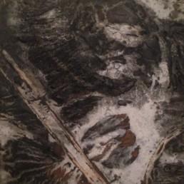 qu qianmei, Galerie d'art Cannes, Galerie Hurtebize, achat tableau art, art moderne, art contemporain, contemporary art, modern art, art abstrait, art figuratif, abstraction lyrique, art abstrait géométrique, peintures, tableau, sculpture, école de paris, hans hartung, robert combas, pierre soulages, marc chagall, georges mathieu, bernard buffet, jean miotte, vasarely, abner