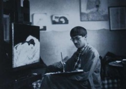 raoul foujita, Galerie d'art Cannes, Galerie Hurtebize, art moderne, modern art, art figuratif, figurative art, peinture, painting