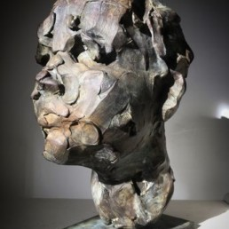catherine thiry, sculpture catherine thiry, le kid, Galerie d'art Cannes, Galerie Hurtebize, art contemporain, contemporary art, sculpture