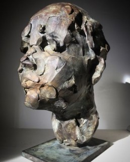 catherine thiry, sculpture catherine thiry, le kid, Galerie d'art Cannes, Galerie Hurtebize, art contemporain, contemporary art, sculpture