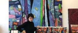 anna nansky, Galerie d'art Cannes, Galerie Hurtebize, achat tableau art, art moderne, art contemporain, contemporary art, modern art, art abstrait, art figuratif, abstraction lyrique, art abstrait géométrique, peintures, tableau, sculpture, école de paris, hans hartung, robert combas, pierre soulages, marc chagall, georges mathieu, bernard buffet, jean miotte, vasarely, abner