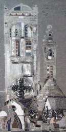 cathédrale, claude venard, Galerie d'art Cannes, Galerie Hurtebize, art moderne, modern art, art figuratif, figurative art, peinture, painting