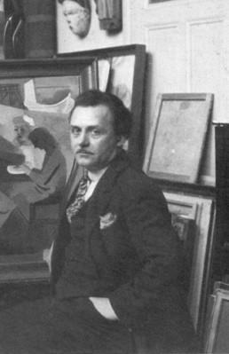andré lhote, art moderne, modern art, art figuratif, figurative art, peinture, painting