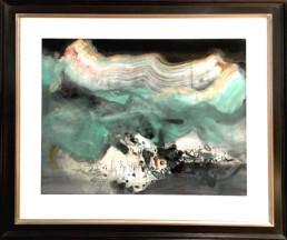 chu teh-chun, 1984, galerie d'art cannes, art Gallery, art moderne, modern art, abstrait, abstract, peinture, painting, sans titre