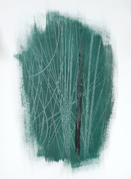 Hans Hartung, Hans Hartung, art moderne, modern art, abstrait, abstraction lyrique, abstract, peinture, painting, T1960-19