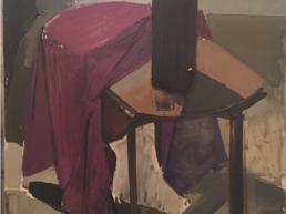 huile sur toile représentant une nature morte de Michel Mousseau