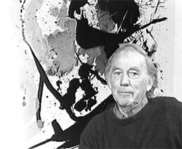 Portrait de Jean Miotte peintre lyrique