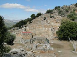 Vetiges de Lato en Grèce