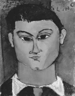 Portrait de Moïse Kisling par Amadeo Mondigliani