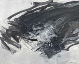 Huile sur toile de 1963 d'André Marfaing sans cadre