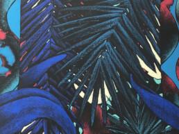 Oeuvre Saturation Red de Julien Colombier artiste contemporain