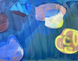Acrylique sur toile de Jan Kolata artiste contemporain de 2014